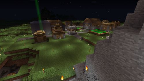 Renovated Village Near Tower of Mystery